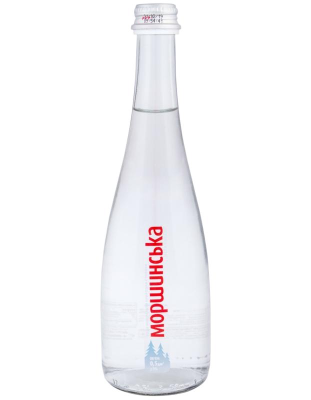 Моршинська вода - ВОДА МОРШИНСЬКА 0,5л негазована (в склі)