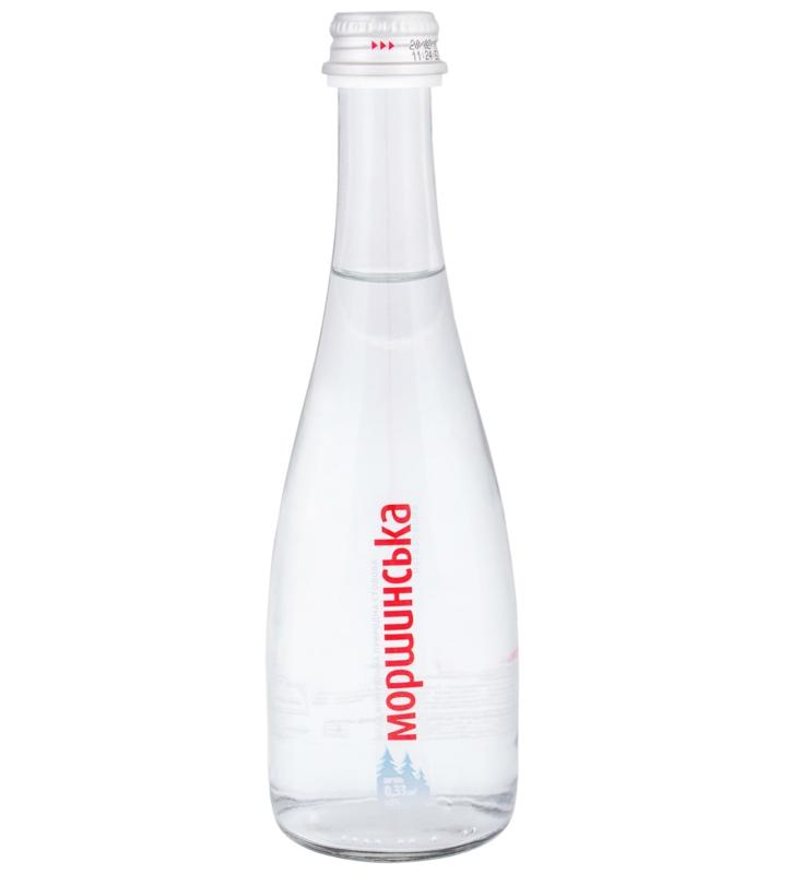 Моршинська вода - ВОДА МОРШИНСЬКА 0,33л негазована (в склі)