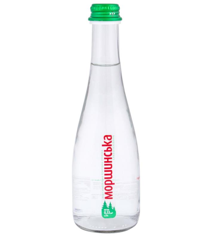 Моршинська вода - ВОДА МОРШИНСЬКА 0,33л газована (в склі)