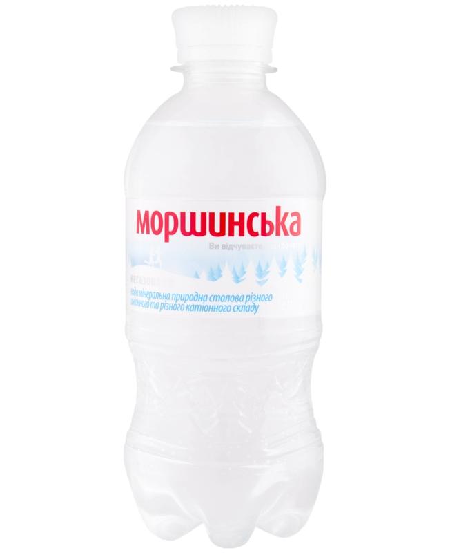 Моршинська вода - ВОДА МОРШИНСЬКА 0,33л негазована