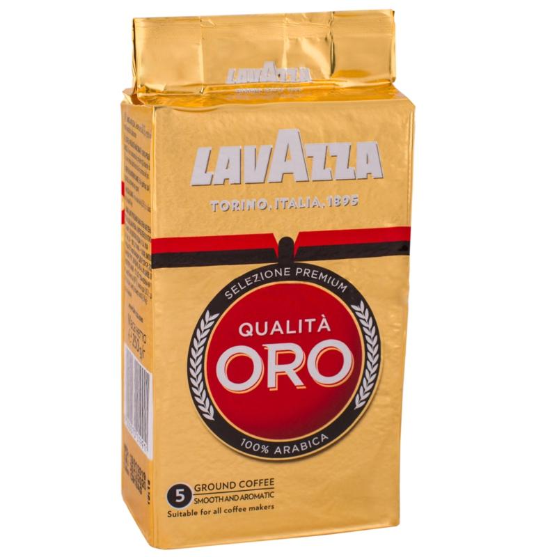 Кава Lavazza - КАВА МЕЛЕНА LAVAZZA Qualita Oro 250г