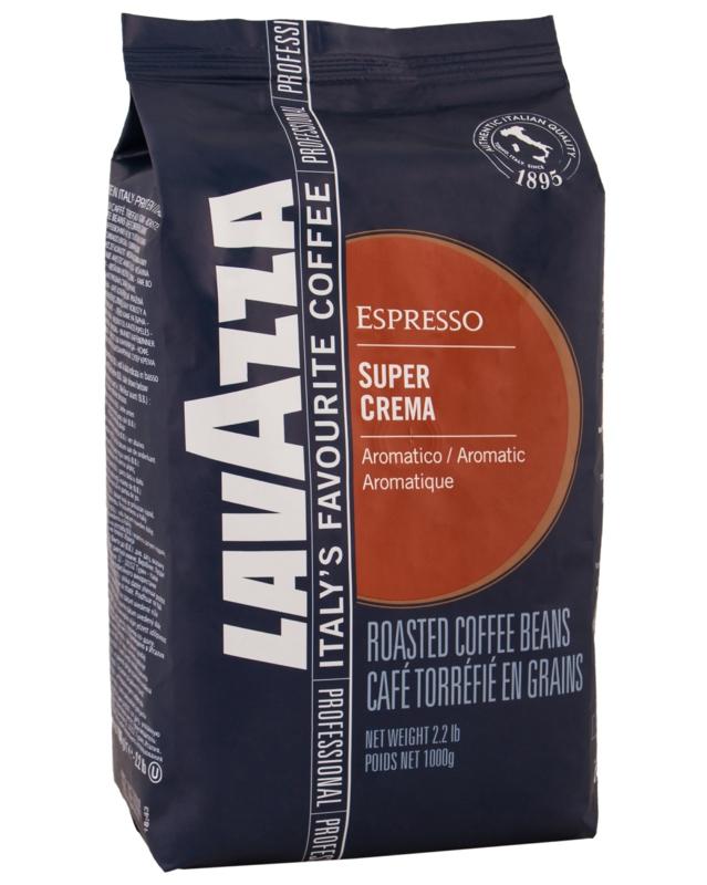 Кава Lavazza - КАВА ЗЕРНОВА LAVAZZA SUPER CREMA 1 кг