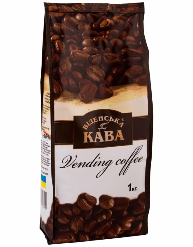 Віденська кава - КАВА ВІДЕНСЬКА VENDING COFFEE 1КГ