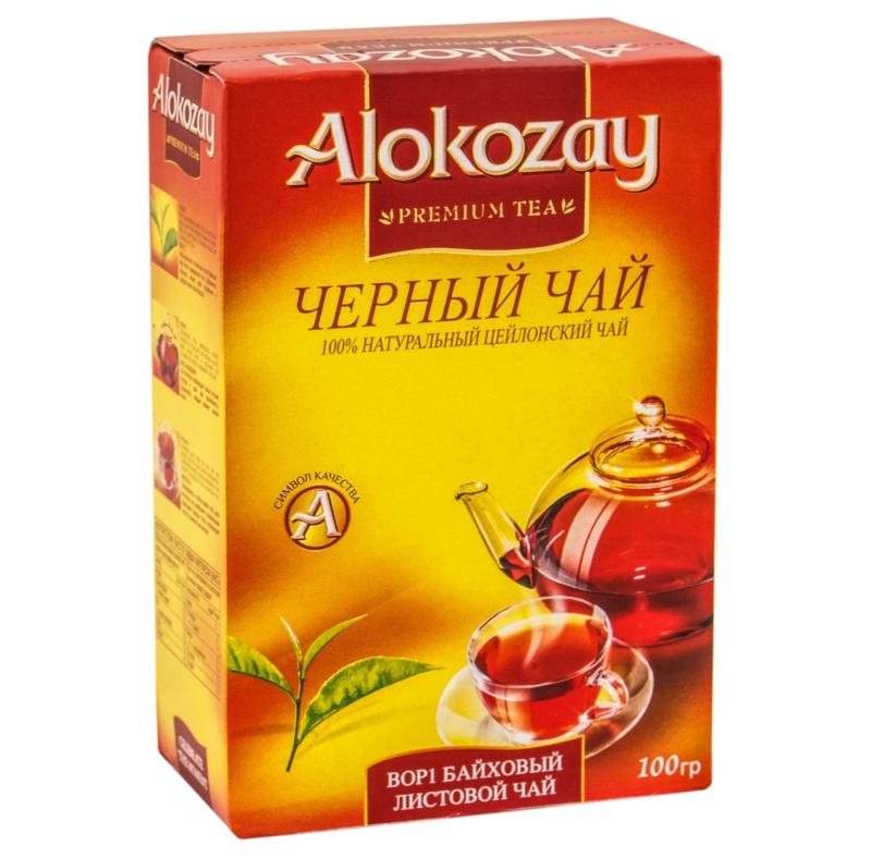 Чай Alokozay - ЧАЙ ЧОРНИЙ ALOKOZAY 100 г