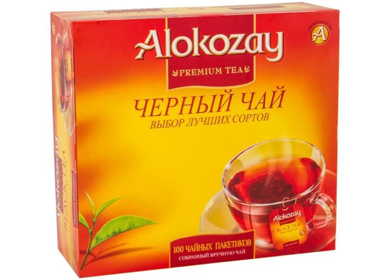 Чай Alokozay - ЧАЙ ЧОРНИЙ ALOKOZAY 100 пак
