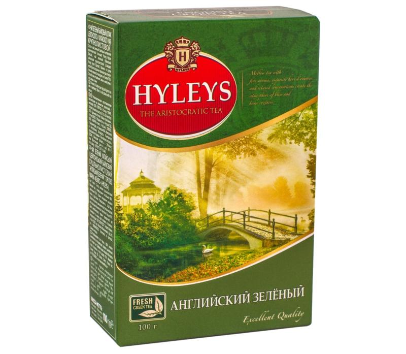 Чай Hyleys - ЧАЙ HYLEYS ЗЕЛЕНИЙ 100 г