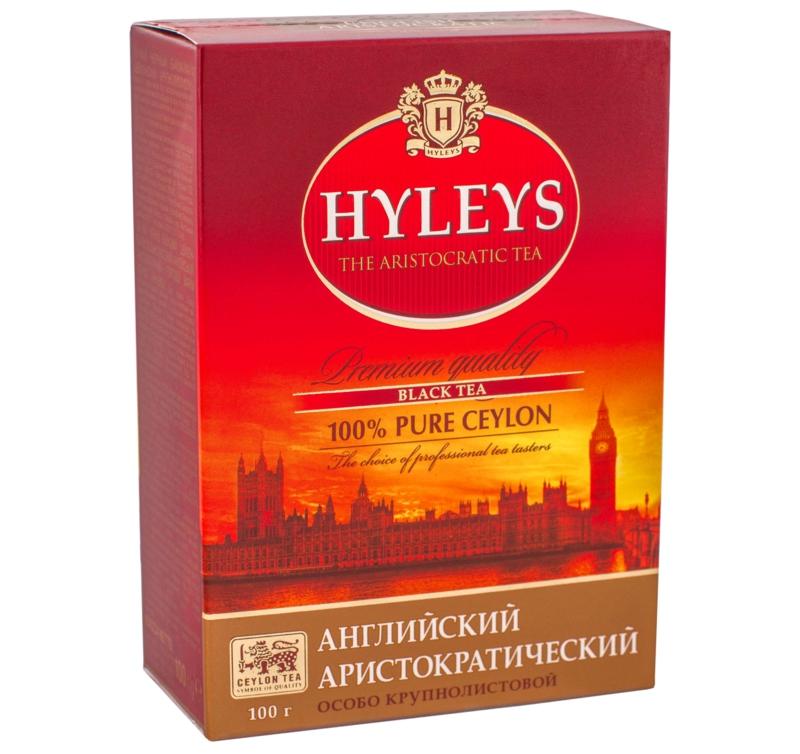 Чай Hyleys - ЧАЙ ЧОРНИЙ HYLEYS 100 г