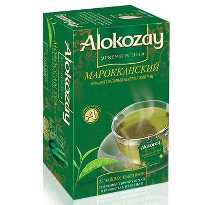 Чай Alokozay - ЧАЙ ALOKOZAY ЗЕЛЕНИЙ З МЯТОЮ 25 пак