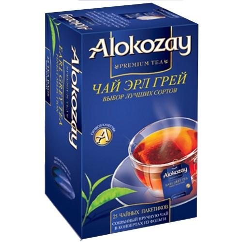 Чай Alokozay - ЧАЙ ЧОРНИЙ З БЕРГАМОТОМ ALOKOZAY 25 пак