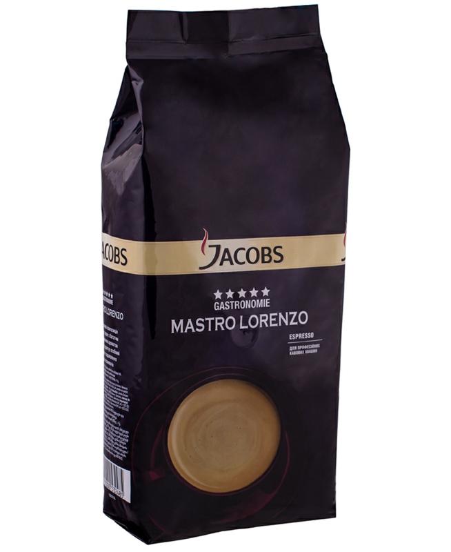 Кава Jacobs - КАВА ЗЕРНОВА JACOBS MASTRO LORENZO 1кг
