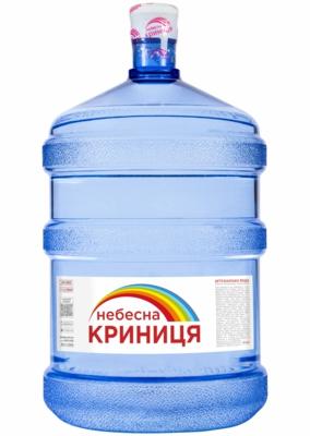 - ВОДА НЕБЕСНА КРИНИЦЯ 18,9л